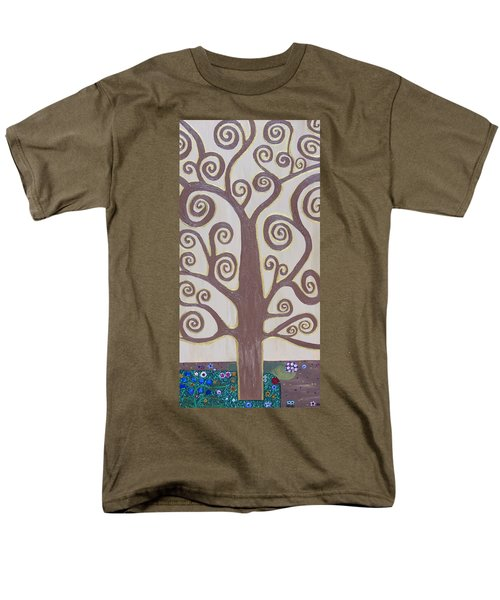 Tree Of Life Men's T-Shirt  (Regular Fit) by Angelina Vick