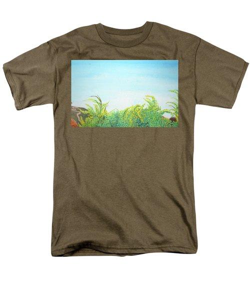 Tree Tops Men's T-Shirt  (Regular Fit) by Mary Ellen Frazee