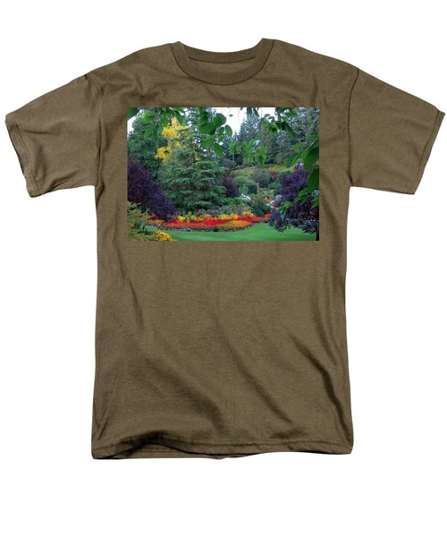 Trees And Flowers Men's T-Shirt  (Regular Fit) by Betty Buller Whitehead