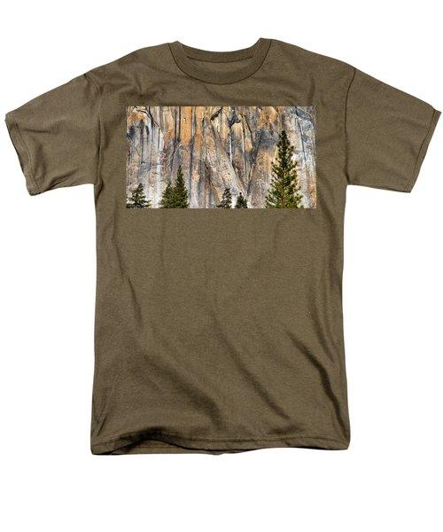 Trees And Granite Men's T-Shirt  (Regular Fit) by Josephine Buschman