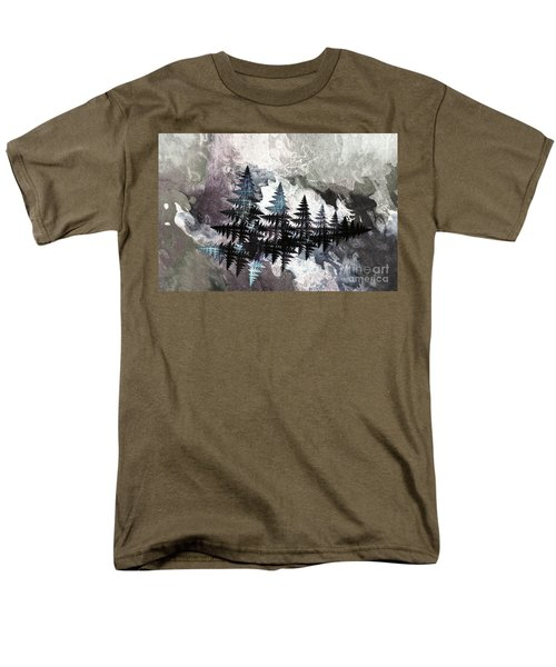 Trees Men's T-Shirt  (Regular Fit) by Geraldine DeBoer
