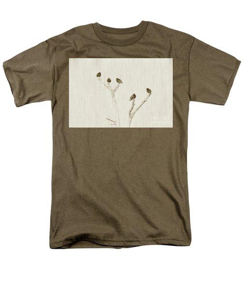 Treetop Starlings Men's T-Shirt  (Regular Fit) by Benanne Stiens