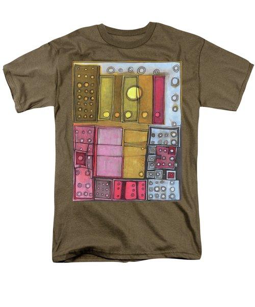 Geometric I Men's T-Shirt  (Regular Fit) by Sandra Church