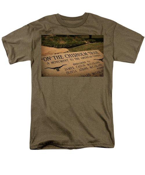 Tribute To The Cowboy Men's T-Shirt  (Regular Fit) by Toni Hopper
