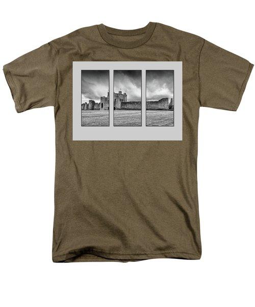 Trim Castle Triptych  Men's T-Shirt  (Regular Fit) by Martina Fagan