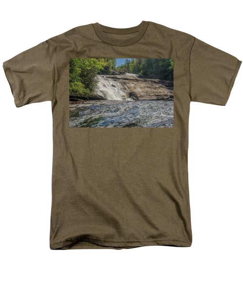 Triple Falls Second Tier Men's T-Shirt  (Regular Fit) by Steven Richardson