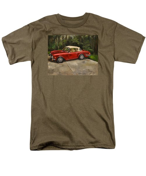 Men's T-Shirt  (Regular Fit) featuring the painting Triumph by Lindsay Frost