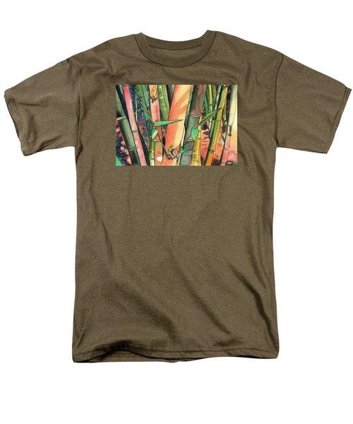 Tropical Bamboo Men's T-Shirt  (Regular Fit)