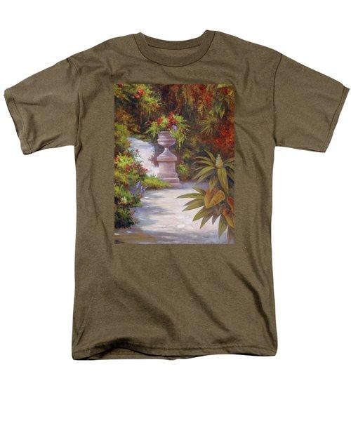 Tropical Garden Men's T-Shirt  (Regular Fit) by Vivien Rhyan