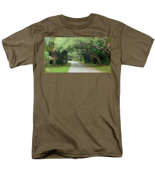 Tropical Magic Forest Men's T-Shirt  (Regular Fit)