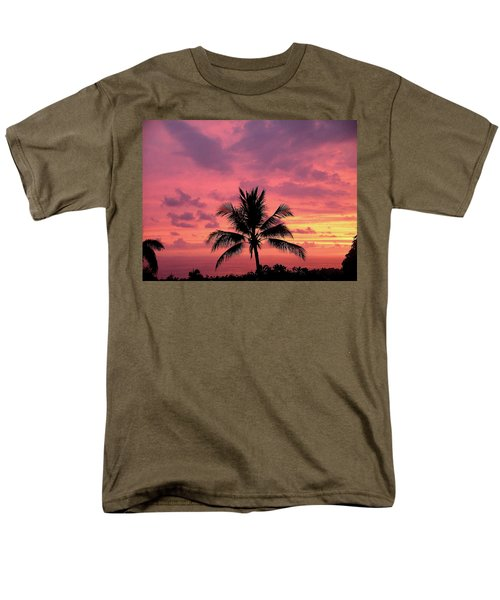 Tropical Sunset Men's T-Shirt  (Regular Fit) by Karen Nicholson