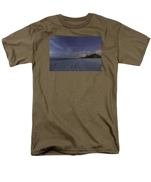Tropical Winter Men's T-Shirt  (Regular Fit) by Christopher L Thomley