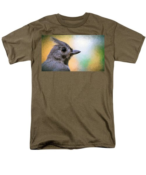 Tufted Titmouse Men's T-Shirt  (Regular Fit) by Diane Giurco