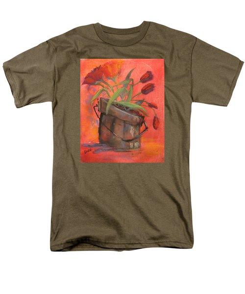Tulip Bucket Men's T-Shirt  (Regular Fit) by Terri Einer