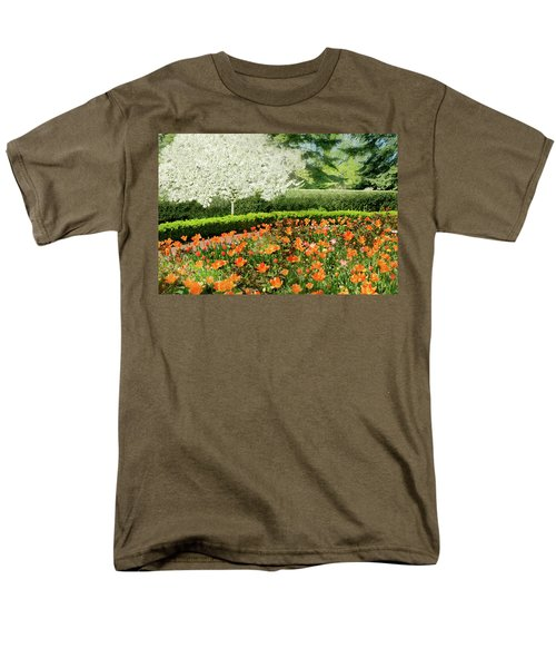 Men's T-Shirt  (Regular Fit) featuring the photograph Tulip Cafe by Diana Angstadt