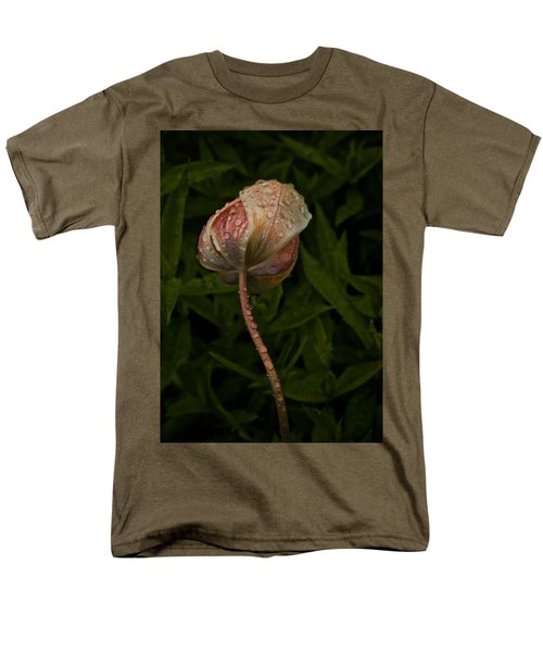 Tulip Tear Drops Men's T-Shirt  (Regular Fit) by Richard Cummings