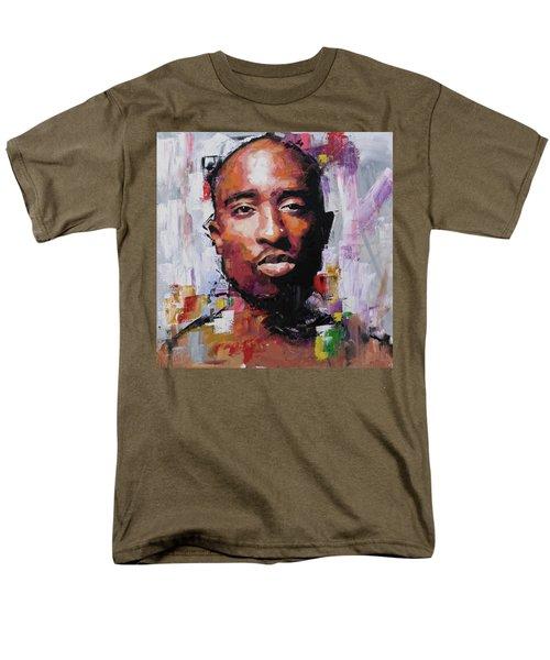 Tupac Men's T-Shirt  (Regular Fit) by Richard Day