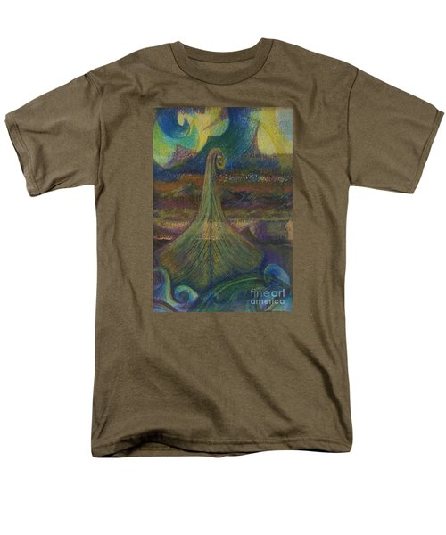Turbulence Men's T-Shirt  (Regular Fit) by Cynthia Lagoudakis