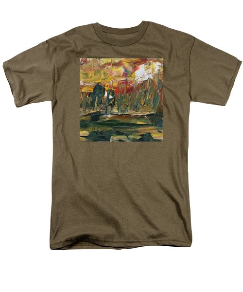 Turmoil Men's T-Shirt  (Regular Fit) by Alan Mager