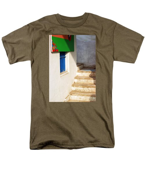 Men's T-Shirt  (Regular Fit) featuring the photograph Turn Left by Prakash Ghai