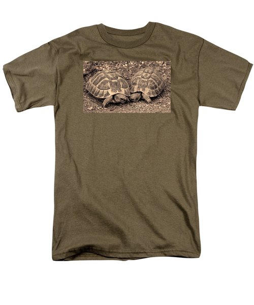 Turtles Pair Men's T-Shirt  (Regular Fit) by Gina Dsgn