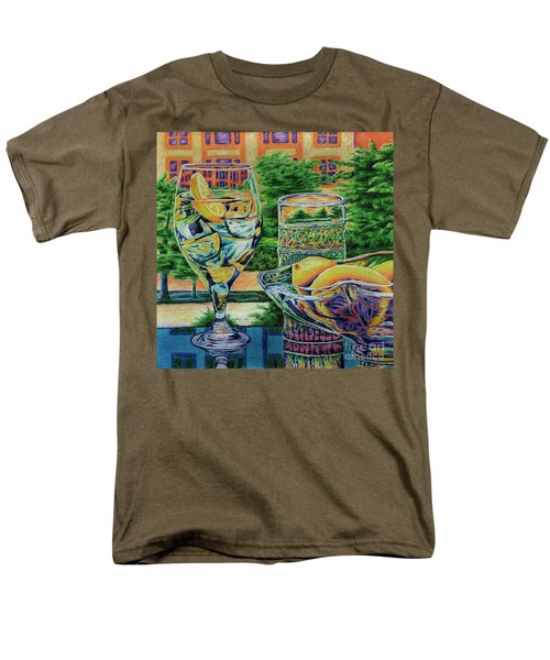 Tuscan Summer Lemonade  Men's T-Shirt  (Regular Fit) by Peter Piatt