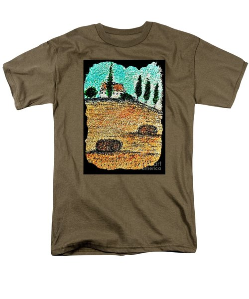 Tuscany  Men's T-Shirt  (Regular Fit) by Jasna Gopic