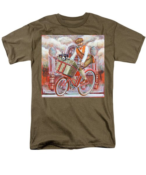 Tweed Runner On Red Pashley Men's T-Shirt  (Regular Fit) by Mark Jones