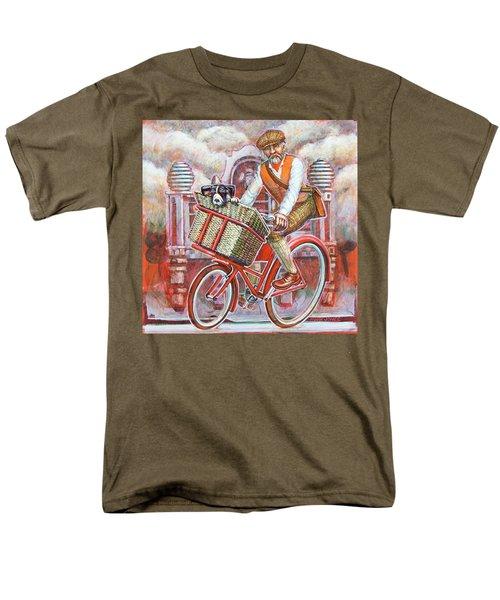 Tweed Runner On Red Pashley Men's T-Shirt  (Regular Fit)