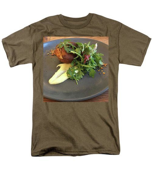 Twice Baked Binham Blue Cheese & Walnut Men's T-Shirt  (Regular Fit) by John Edwards