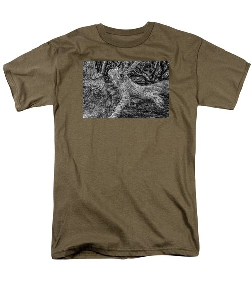Twisted Men's T-Shirt  (Regular Fit) by Mark Lucey
