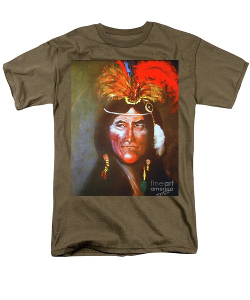 Men's T-Shirt  (Regular Fit) featuring the painting Two Bears by Donna Dixon