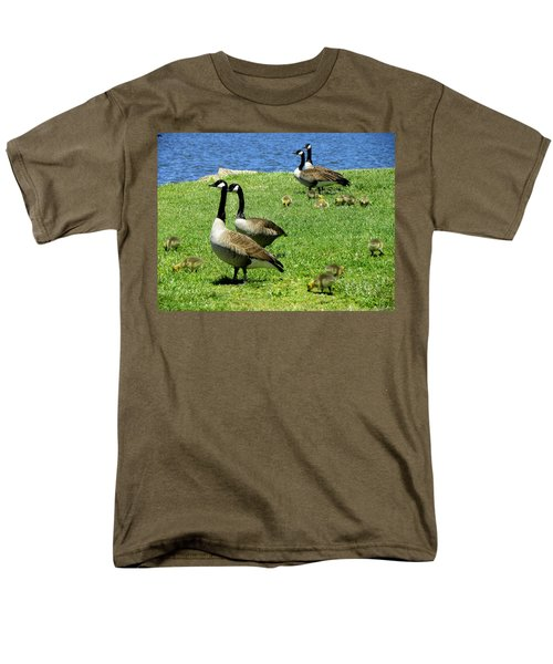Men's T-Shirt  (Regular Fit) featuring the photograph Two By Two  by Sandi OReilly