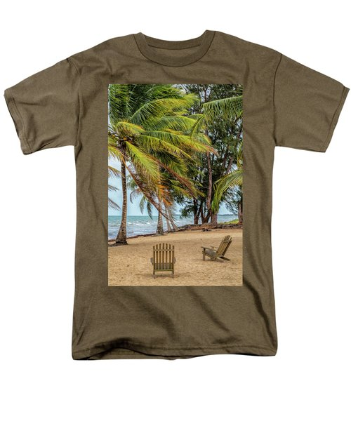 Two Chairs In Belize Men's T-Shirt  (Regular Fit)