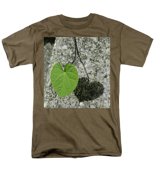 Men's T-Shirt  (Regular Fit) featuring the photograph Two Hearts Entwined by Bruce Carpenter