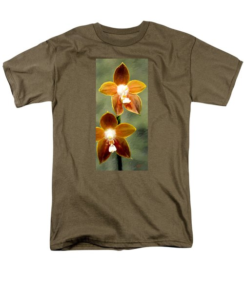 Men's T-Shirt  (Regular Fit) featuring the painting Two Of Us by James Shepherd