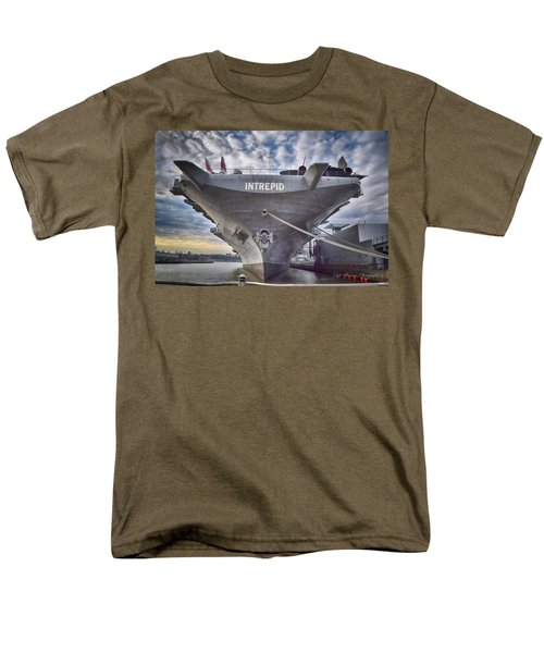 U S S   Intrepid Men's T-Shirt  (Regular Fit) by Dyle Warren