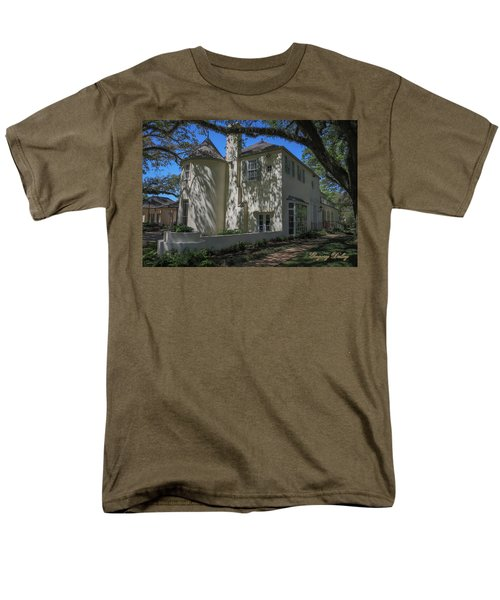 Men's T-Shirt  (Regular Fit) featuring the photograph Ul Alum House by Gregory Daley  PPSA