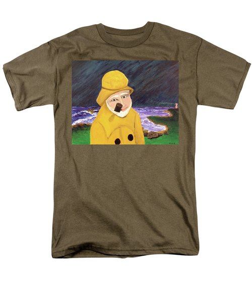 Men's T-Shirt  (Regular Fit) featuring the painting Uncle Bunk by Thomas Blood