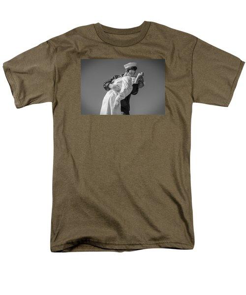 Unconditional Surrender 3 Men's T-Shirt  (Regular Fit) by Susan  McMenamin