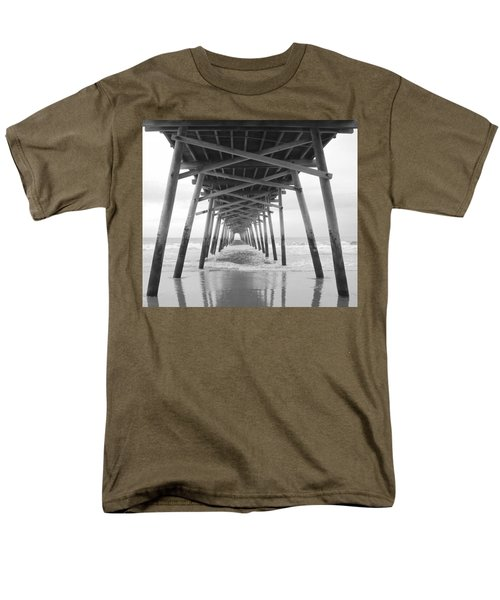Under The Pier Men's T-Shirt  (Regular Fit) by Betty Buller Whitehead