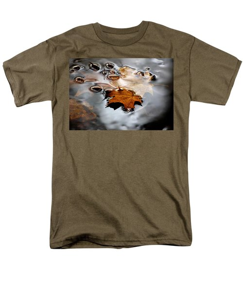 Under Water Fall Men's T-Shirt  (Regular Fit) by LeeAnn McLaneGoetz McLaneGoetzStudioLLCcom