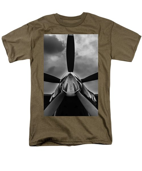Men's T-Shirt  (Regular Fit) featuring the photograph Unflyable Weather by Alexander Senin