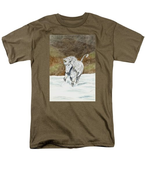 Unicorn Icelandic Men's T-Shirt  (Regular Fit) by Shari Nees