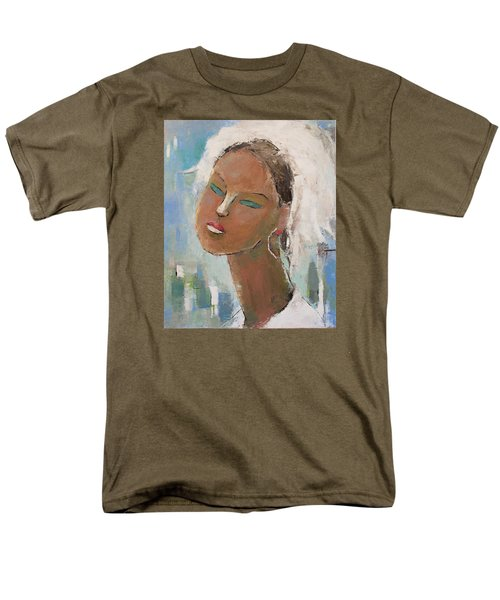 Men's T-Shirt  (Regular Fit) featuring the painting Unknown by Becky Kim