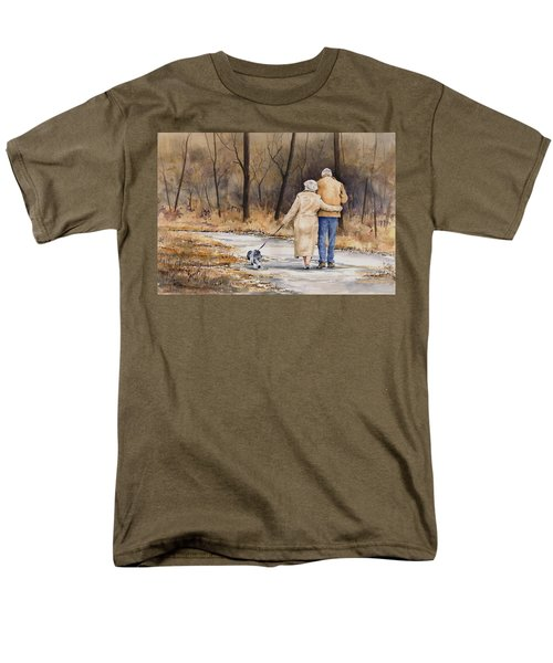 Unspoken Love Men's T-Shirt  (Regular Fit) by Sam Sidders