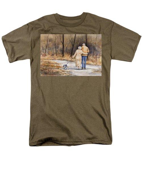 Unspoken Love Men's T-Shirt  (Regular Fit)