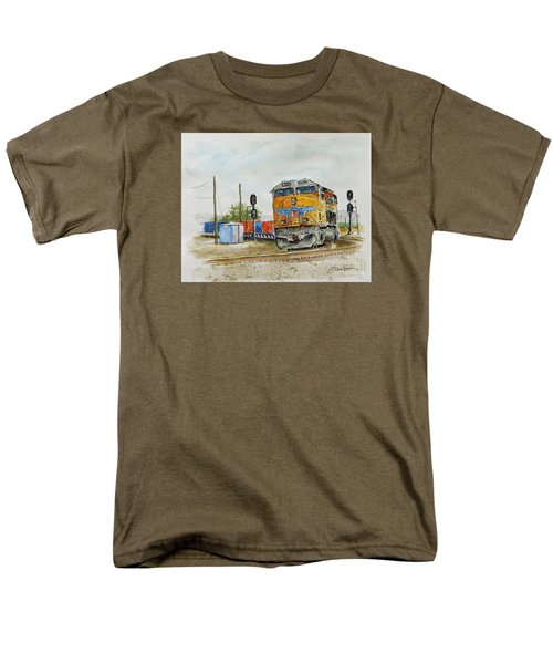 U.p. 8226 Men's T-Shirt  (Regular Fit) by William Reed