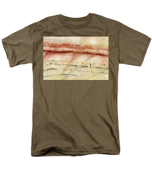 Men's T-Shirt  (Regular Fit) featuring the photograph Up Close Painted Hills by Greg Nyquist
