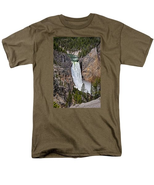 Upper Falls Men's T-Shirt  (Regular Fit) by John Gilbert